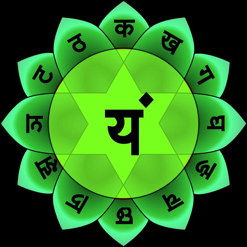 Chakra du coeur Anāhata